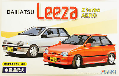 Fujimi ID-149 Daihatsu Leeza Z turbo or AERO 1/24 scale convertible kit