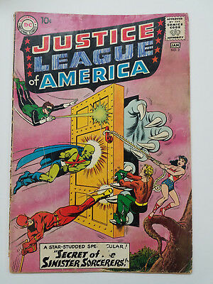 JUSTICE LEAGUE OF AMERICA #2 1961 GD 2.0 Complete *OPG $114*