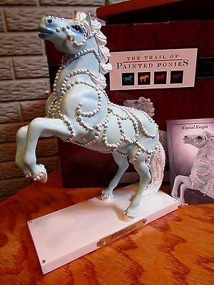 Trail of Painted Ponies Camelots King Arthur KRYSTAL KNIGHT Horse IE/2833 NIB!