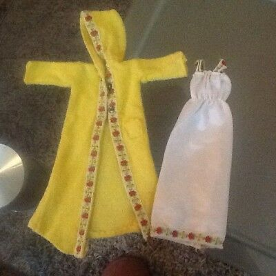 """1979 Sindy doll """"winter nights""""outfit very good condition now REDUCED! No doll"""