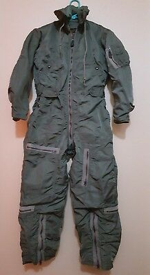 1958 USAF FLIGHT SUIT Size Small - Regular Coverall Flying SANDLER BROTHERS USA