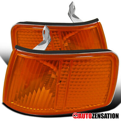 For 90-91 Honda CRX CR-X JDM Amber Turn Signal Corner Lights