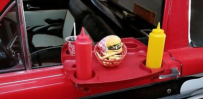 Deluxe Sonic Tray with 4 cup holders Authenic Sonic used at local drive in