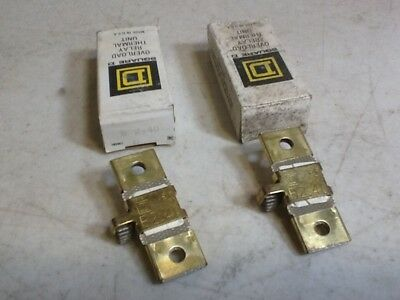 SQUARE D OVERLOAD RELAY THERMAL UNIT B 2.40 Heater Lot of 2