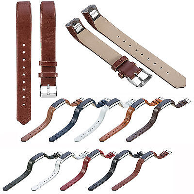 Replacement Leather Wrist Bands Strap Bracelet for Fitbit Fitbit Alta&Alta HR AU