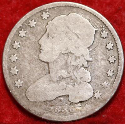 1833 Philadelphia Mint Silver Capped Bust Quarter