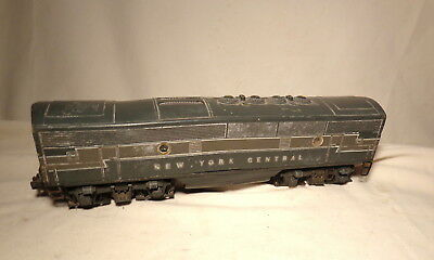 Lionel 2344  F3 New York Central B Unit Non-Powered NYC Diesel Loco / O Gauge