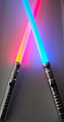 Ultrasabers Initiate V4 Lightsaber Hilt x1 Guardian Blue x1 Red with Blades