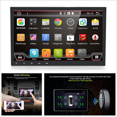 """10.1""""Android 7.1.1 Quad-Core 1080P Touch Stereo Radio GPS Wifi 3G/4G Mirror Link"""