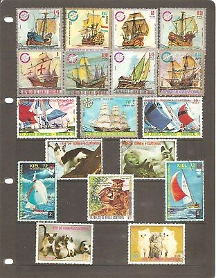 Guinea Ecuatorial   Nice Collection Of 18  Fine Used   Stamps        (A)