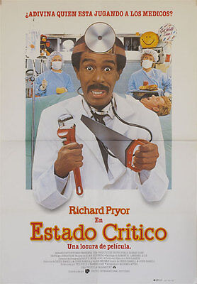 Estado critico  -- Cartel de Cine Original --