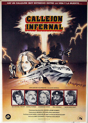 Callejon infernal -- Cartel de Cine Original --