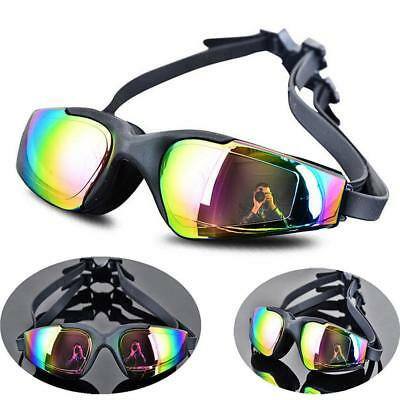 Anti Fog/UV Swim Glasses Adults Electroplate Waterproof Swiming Goggles SY 14