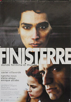 Finisterre  -- Cartel de Cine Original --