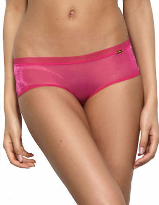 New Gossard Glossies Sheer Very Berry Shorts Hipster Briefs 6274