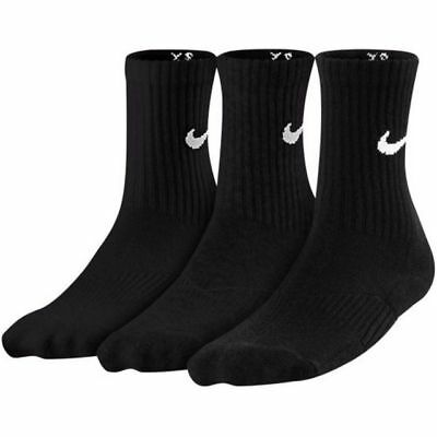 Nike Performance Crew Youth Socks Size Small New With Tags Sx4719 001