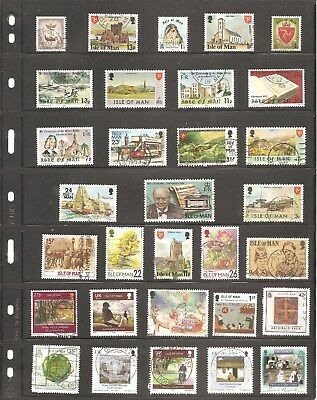 Isle Of Man Collection Of 31   Fine Used  Stamps     ( B )