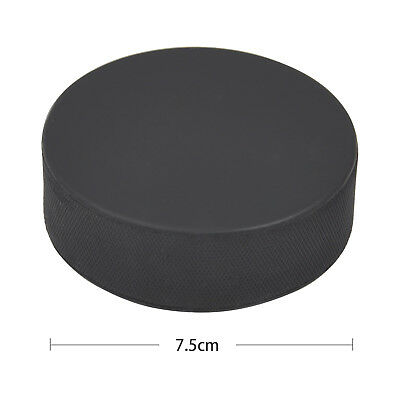Galvanised Rubber Ice Hockey Puck Regulation Standard - By TRIXES