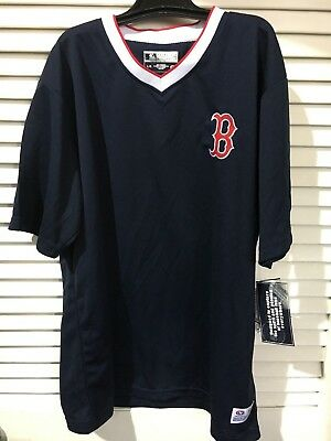 c65f9cdf2 DYNASTY APPAREL TRUE Fan MLB Baseball Mens S Boston Red Sox Jersey ...