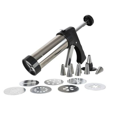 Pastry Cookie Press Press Piping Syringe Dough