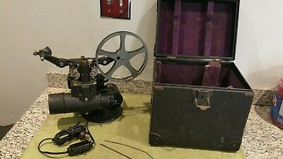 Vintage Bell & Howell Filmo Cinemachinery 16Mm Projector