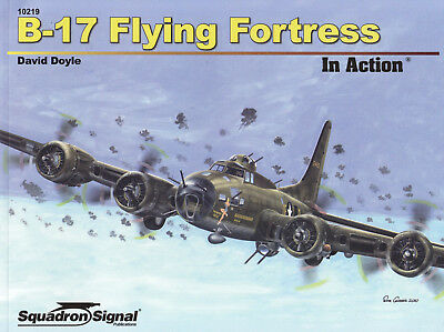 200a/ Squadron / Signal - In Action 219 - B-17 Flying Fortress - TOPP HEFT