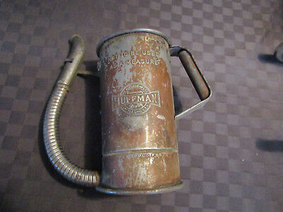 Vintage ~  Huffman ~ Oil Can with flexible  Spout