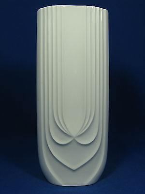 "Cool 70´s Hutschenreuther Pop Art Design "" Relief "" Porzellan Vase 6374  27,5 cm"