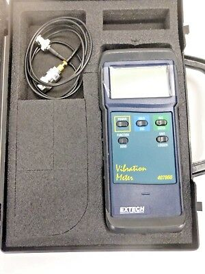 New!! Extech Digital Vibration Meter Kit, 407860