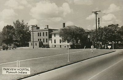 IND RPPC Parkview Hospital Plymouth Indiana Real Photo Postcard