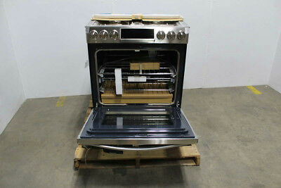 Samsung 5.8 Cu. Ft. Chef Collection Gas Range, NX58H9950WS