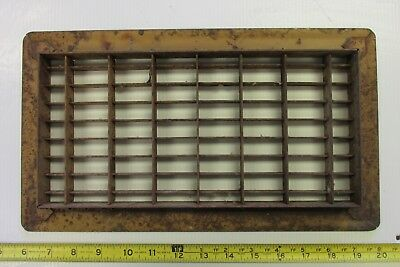 Vintage Steel Furnace Heater Floor Grate Lot A