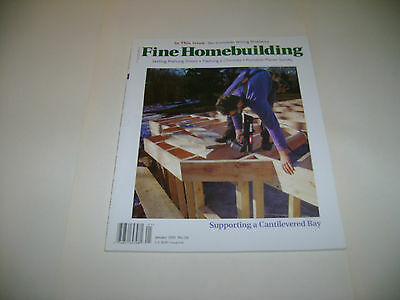 Fine Homebuilding - January  2001 - Supporting A Cantilevered Bay