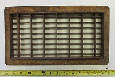 Vintage Steel Furnace Heater Floor Grate Lot B