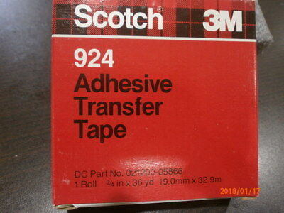"3m 136 scotch double stick tape 250"" cad $8.93 