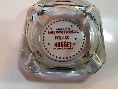 1960'S  SPARKS NUGGET CASINO Ashtray  54 YEARS OLD!! VINTAGE LAS VEGAS
