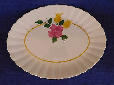 Blue Ridge Southern Tulip or June Bride OVAL PLATTER have more items to set