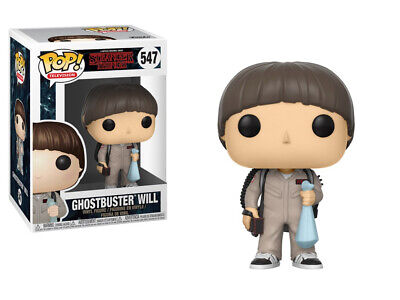 Stranger Things 2nd Season Will Ghostbusters POP! Figure Toy #547 FUNKO NEW MIB