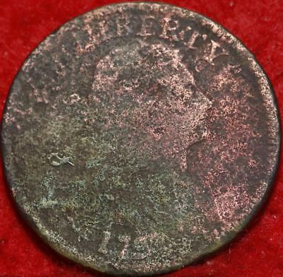 1797 Philadelphia Mint Copper Draped Bust Large Cent