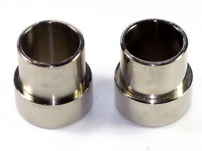 TRIUMPH 750 to 650 exhaust spigot adapter T140 to T120 push in adapters