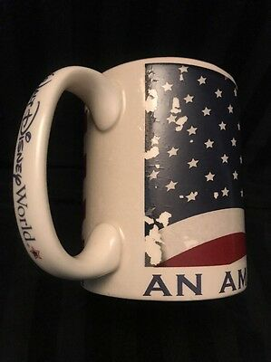 Walt Disney World An  American Tradition Flag Shadow Mug Coffee Tea