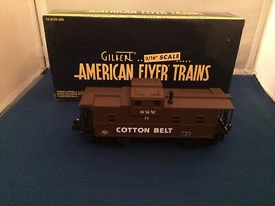 American Flyer 48751 Cotton Belt SSW Caboose w/ Lighted Int. New in Box S Gauge