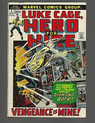Luke Cage Hero For Hire #2 Tuska-a