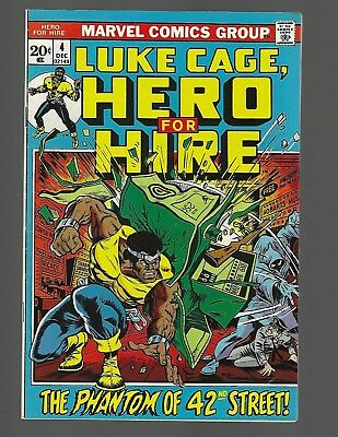 Luke Cage Hero For Hire #4 1st App Phil Fox Of The Bugle