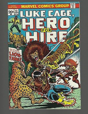 Luke Cage Hero For Hire #13 Loin-Fang