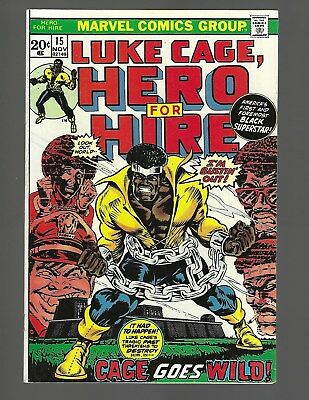 Luke Cage Hero For Hire #15 Cage Goes Wild