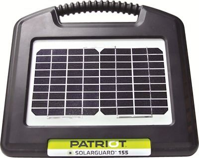 Patriot Solarguard 155 Solar Electric Fence Charger Energizer 10 mile / 40 acres