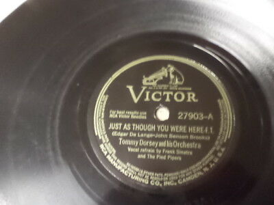 WW2 Victor 78/Tommy Dorsey&His Orchestra/Frank Sinatra&The Pied Pipers..