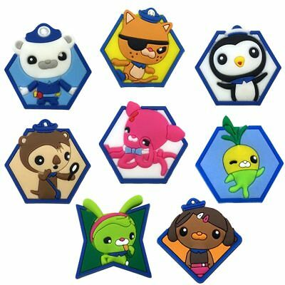 20pcs Lot the Octonauts PVC Shoes Charms fit for Croc & Jibbitz Wristbands Gift