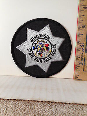 Wisconsin State Fair Park Police Shoulder Patch  117TB.